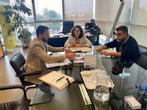 Reunión para valorar asuntos medioambientales en el ámbito de Orihuela