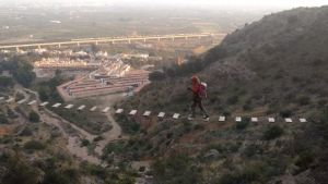 Callosa inaugura mañana una de las vías ferratas más largas de la Comunidad Valenciana
