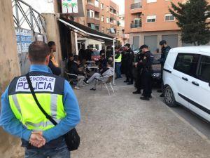 Detienen a seis personas en Callosa por infringir la Ley de Extranjería