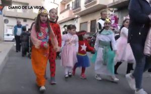 Los niños protagonizan el Carnaval en Rafal