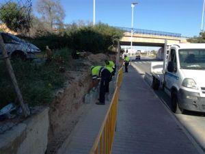 Continúan los trabajos de reparación tras la DANA en Torrevieja