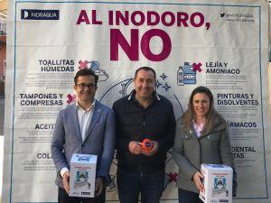 """""""De ti depende""""  es la nueva campaña de sensibilización del buen uso del inodoro en Cox"""